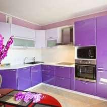 Кухни Эмаль на заказ Кухня с фасадами МДФ крашенными